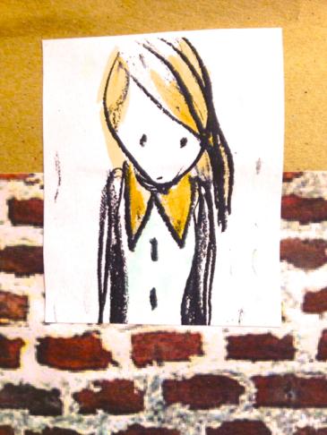 girl & duck writing by jen storer