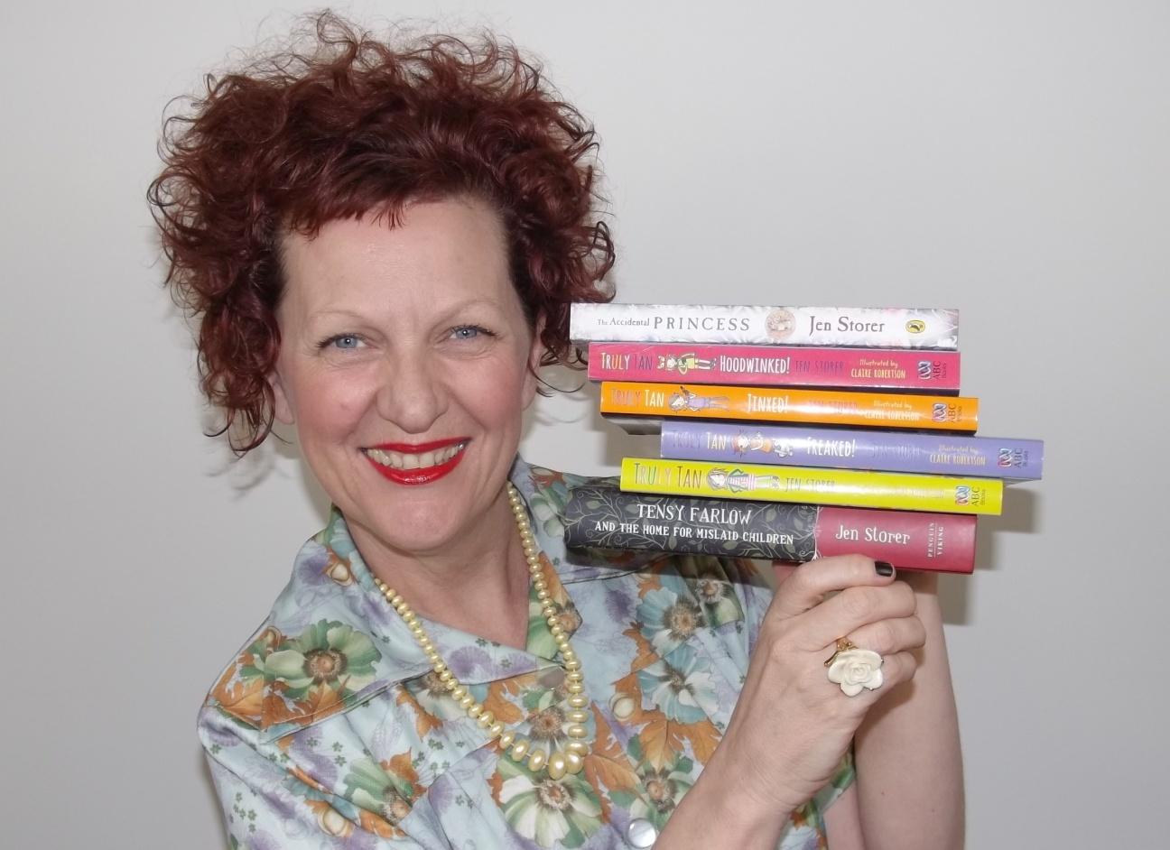 jen storer children's author
