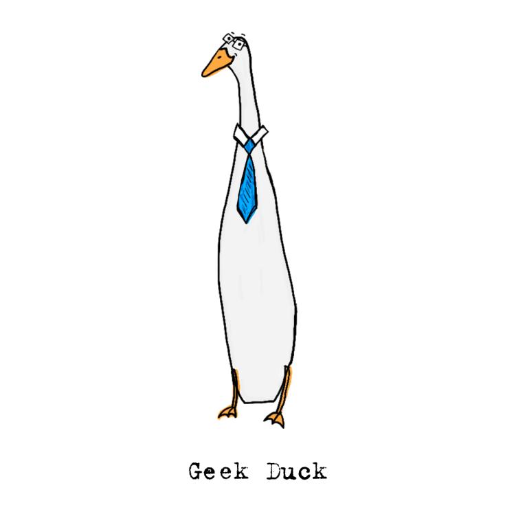 Geek duck