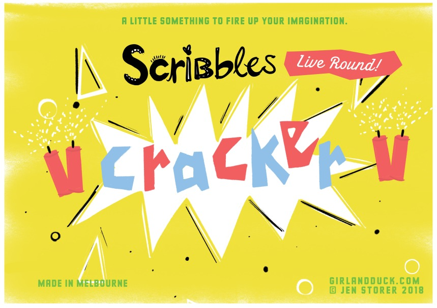 **Scribbles cracker front page